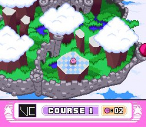 Kirby's Dream Course Review - Screenshot 2 of 4