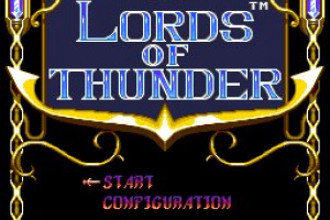 Lords of Thunder Screenshot