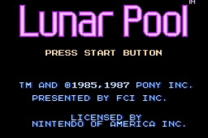 Lunar Pool Screenshot