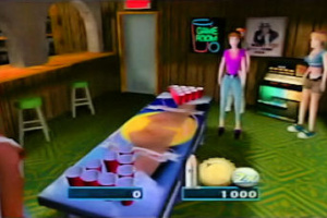 Frat Party Games: Pong Toss Screenshot