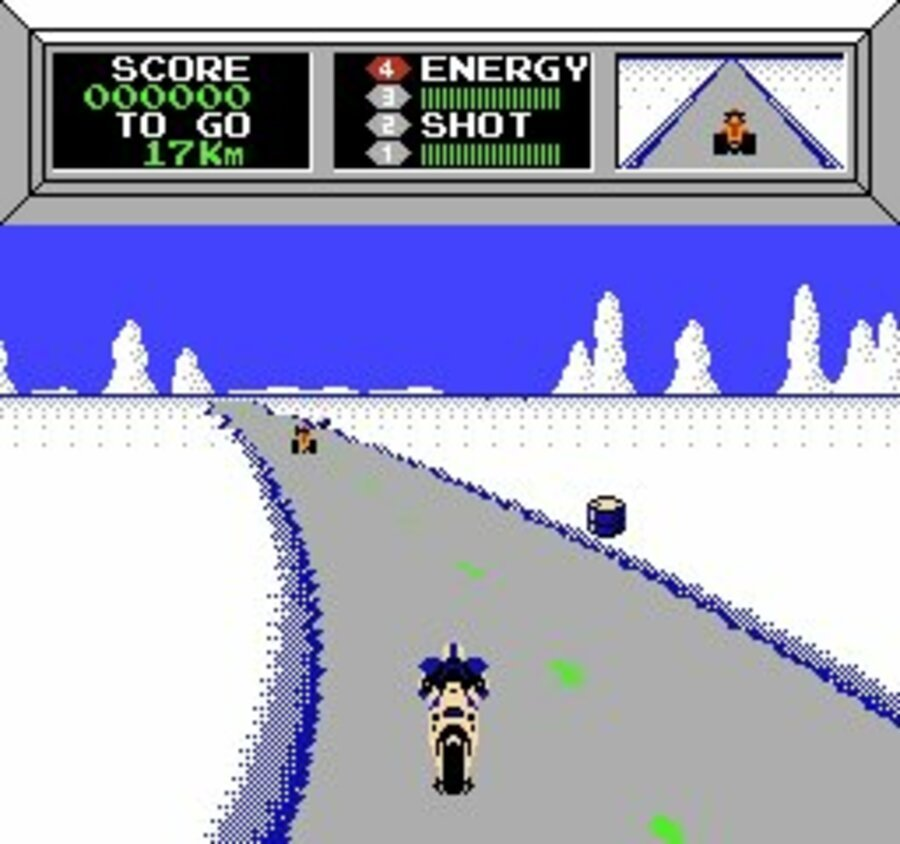 Mach Rider Screenshot