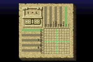 Mario's Super Picross Screenshot