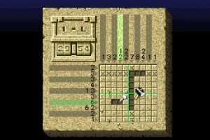 Mario's Super Picross Screenshot