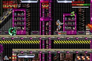 Mega Turrican Screenshot