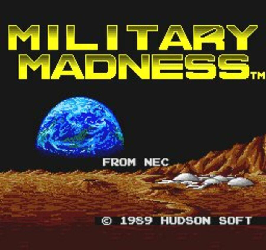 Military Madness Screenshot