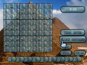Sudoku Challenge! Review - Screenshot 4 of 5