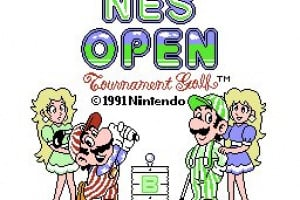 NES Open Tournament Golf Screenshot