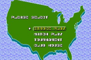 NES Open Tournament Golf Screenshot