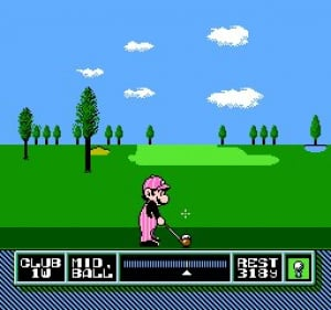 NES Open Tournament Golf Review - Screenshot 1 of 2