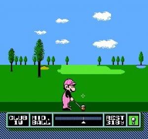 NES Open Tournament Golf Review - Screenshot 1 of 3