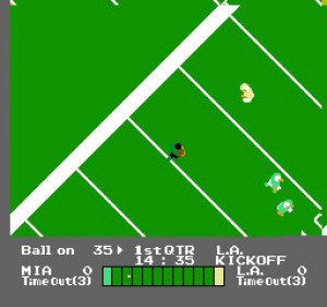NES Play Action Football Review - Screenshot 1 of 2