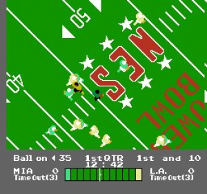 NES Play Action Football Review - Screenshot 2 of 2