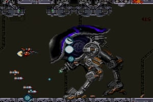 Axelay Screenshot