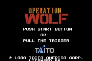 Operation Wolf Screenshot