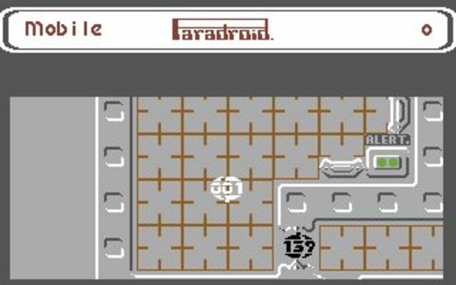 Paradroid Screenshot