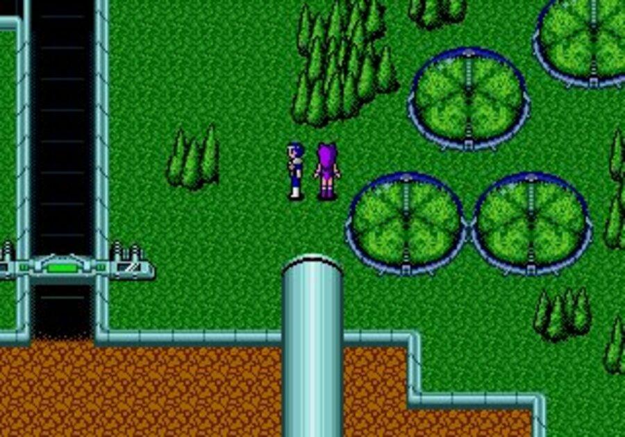 Phantasy Star II Screenshot