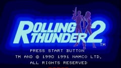Rolling Thunder 2 Screenshot