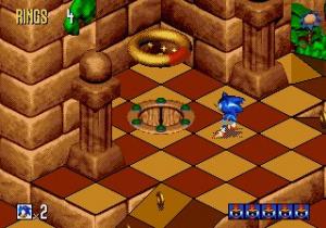 Sonic 3D Blast Review - Screenshot 1 of 2