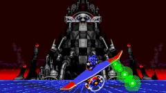Sonic Spinball Screenshot