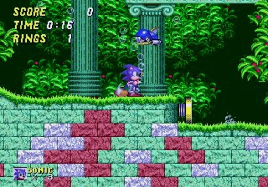 Sonic the Hedgehog 2 Screenshot