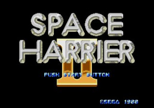 Space Harrier II Review - Screenshot 2 of 2