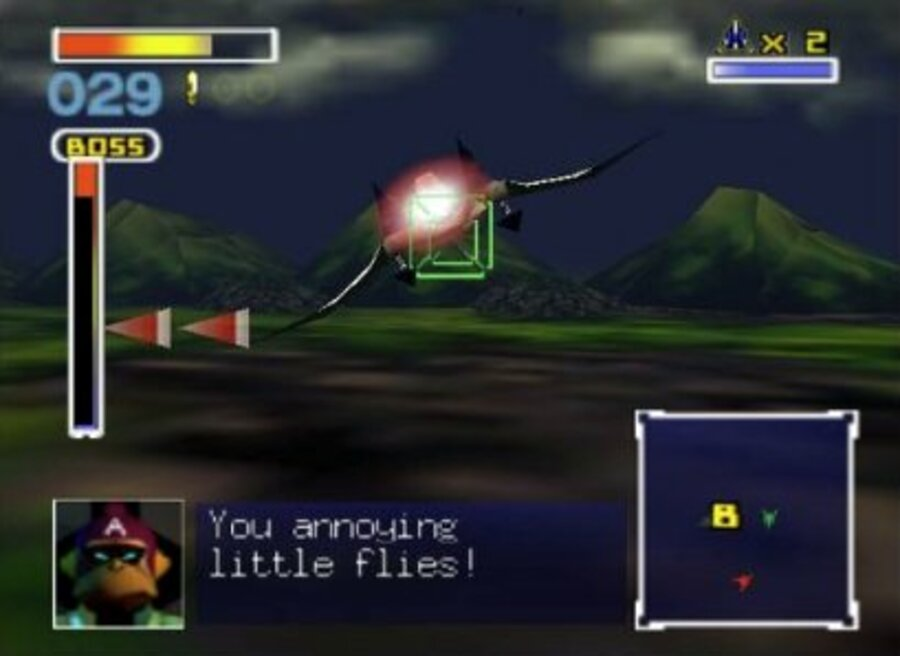 Star Fox 64 Screenshot