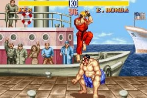 Street Fighter II: The World Warrior Screenshot