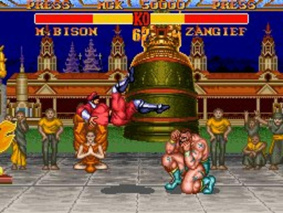 Street Fighter II' Turbo: Hyper Fighting Screenshot