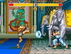 Street Fighter II' Turbo: Hyper Fighting Review - Screenshot 1 of 2