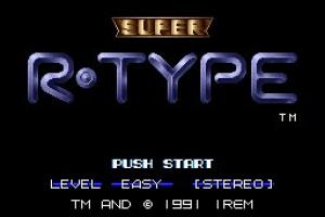 Super R-Type Screenshot