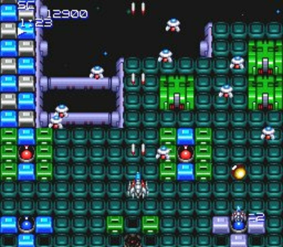 Super Star Soldier Screenshot