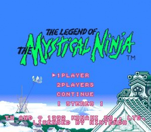 The Legend of the Mystical Ninja Review - Screenshot 1 of 4