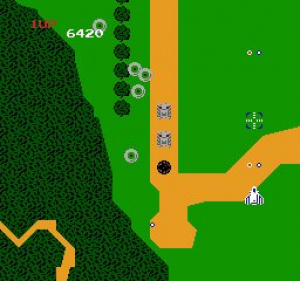 Xevious Review - Screenshot 1 of 2