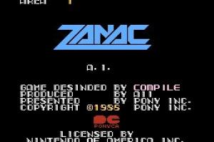 Zanac Screenshot