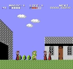 Zelda II: The Adventure of Link Screenshot