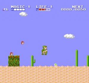 Zelda II: The Adventure of Link Review - Screenshot 1 of 2