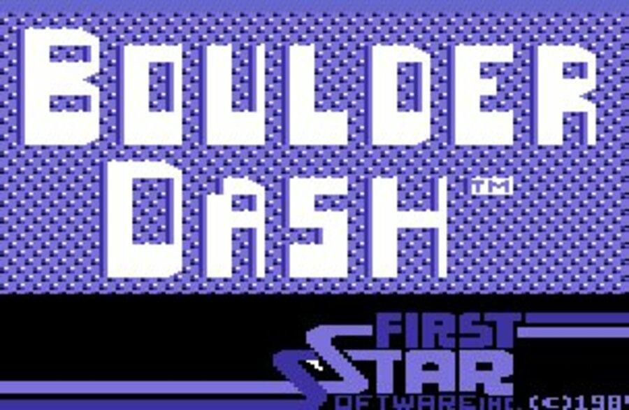 Boulder Dash Screenshot