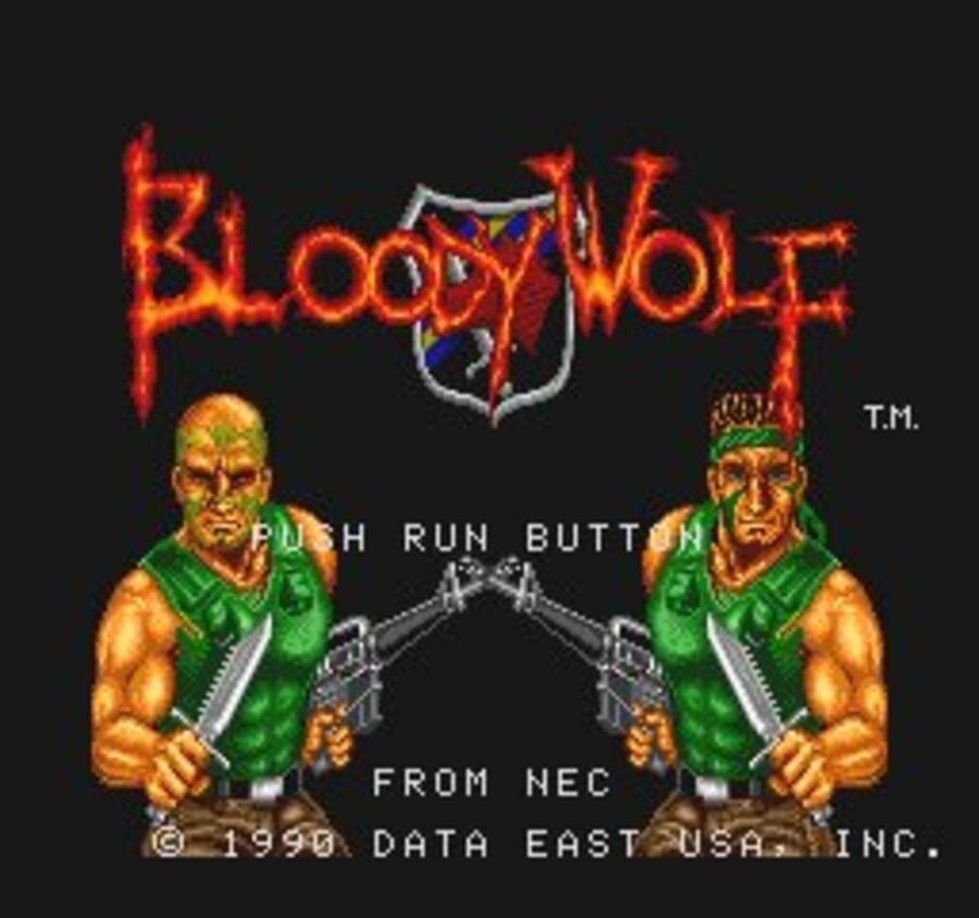 Bloody Wolf Screenshot