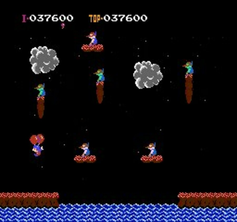 Balloon Fight Screenshot