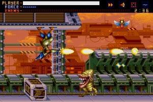 Alien Soldier Screenshot