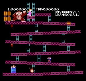 Donkey Kong Review - Screenshot 1 of 3