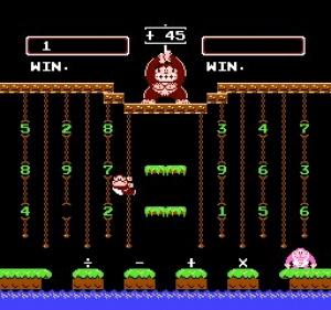 Donkey Kong Jr. Math Review - Screenshot 2 of 4