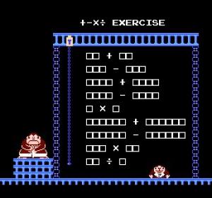 Donkey Kong Jr. Math Review - Screenshot 1 of 4