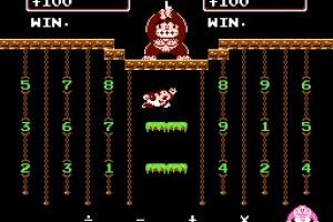 Donkey Kong Jr. Math Screenshot