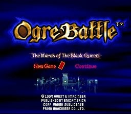 Ogre Battle: The March of the Black Queen Screenshot