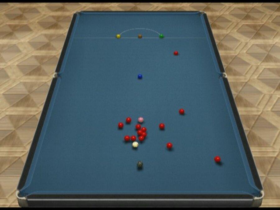 Cue Sports Snooker Vs Billiards Wiiware Screenshots