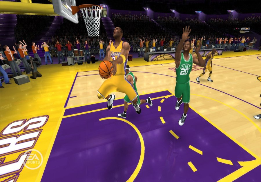 NBA Live 09 All-Play Review - Screenshot 1 of 4