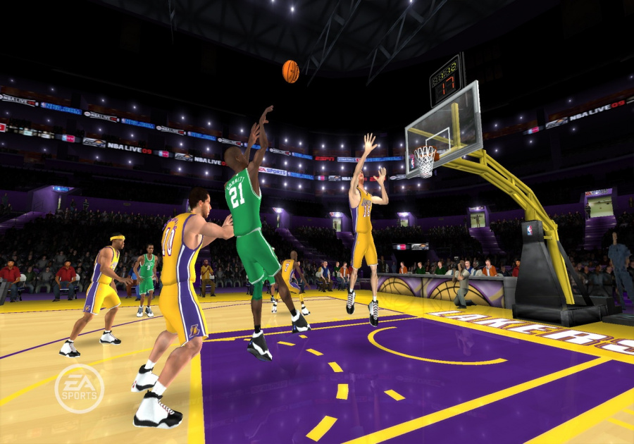 NBA Live 09 All-Play Review - Screenshot 2 of 4