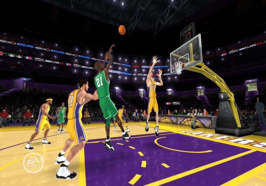 NBA Live 09 All-Play Screenshot