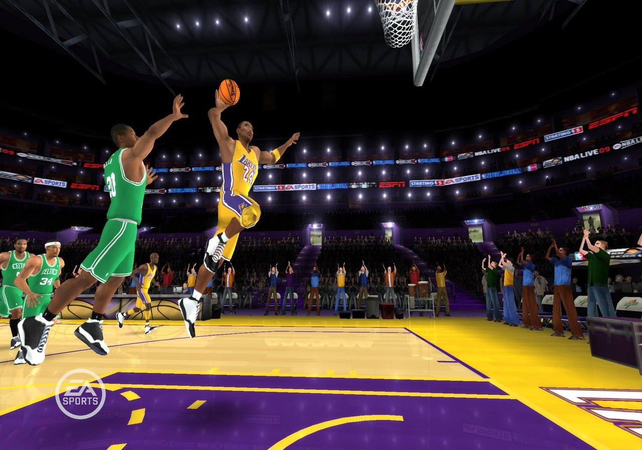 Nba Live 09 All Play Wii News Reviews Trailer